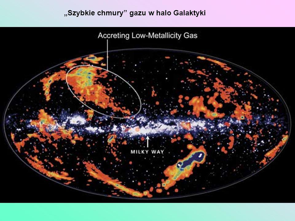 """""""Szybkie chmury gazu w halo Galaktyki"""