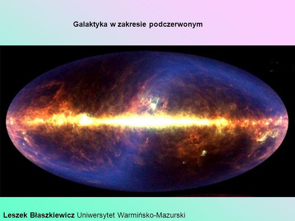 Galaktyka w zakresie podczerwonym