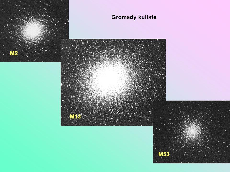 Gromady kuliste M2 M13 M53