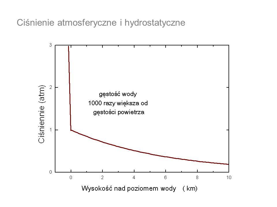 Ciśnienie atmosferyczne i hydrostatyczne