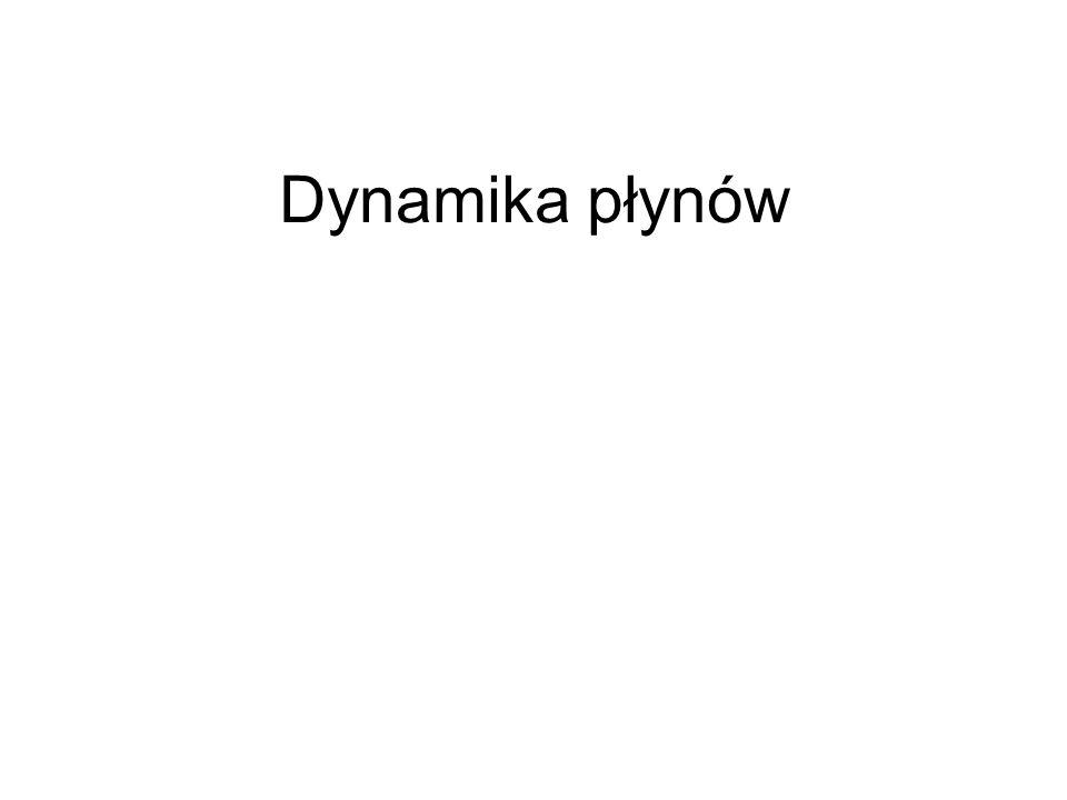 Dynamika płynów