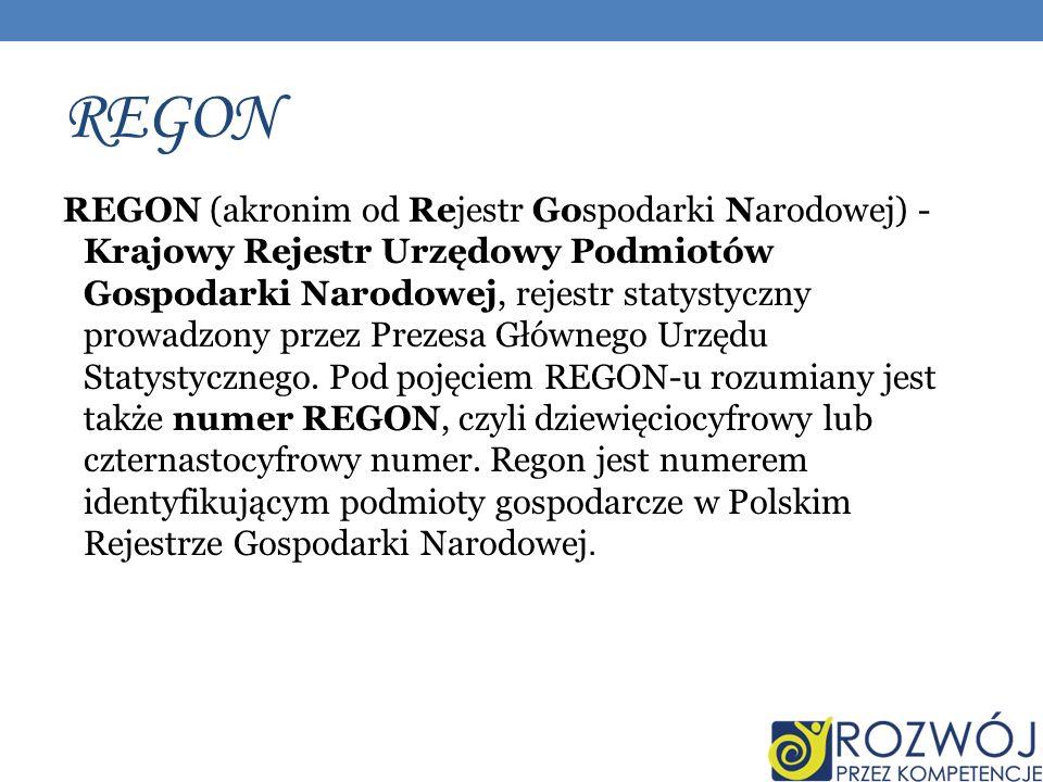 REGON