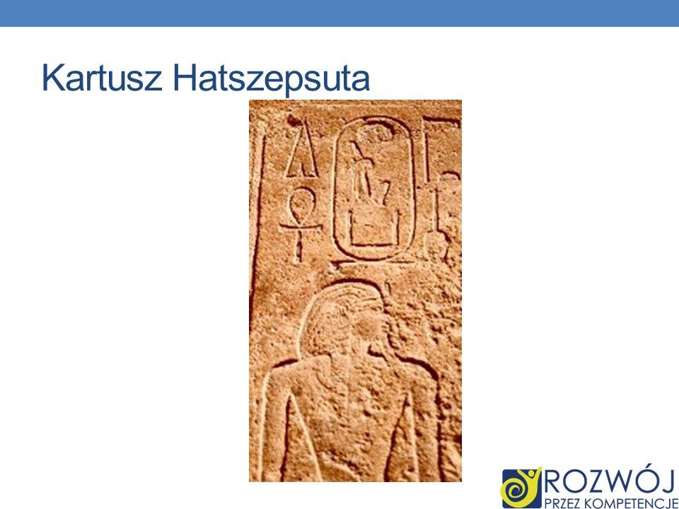 Kartusz Hatszepsuta