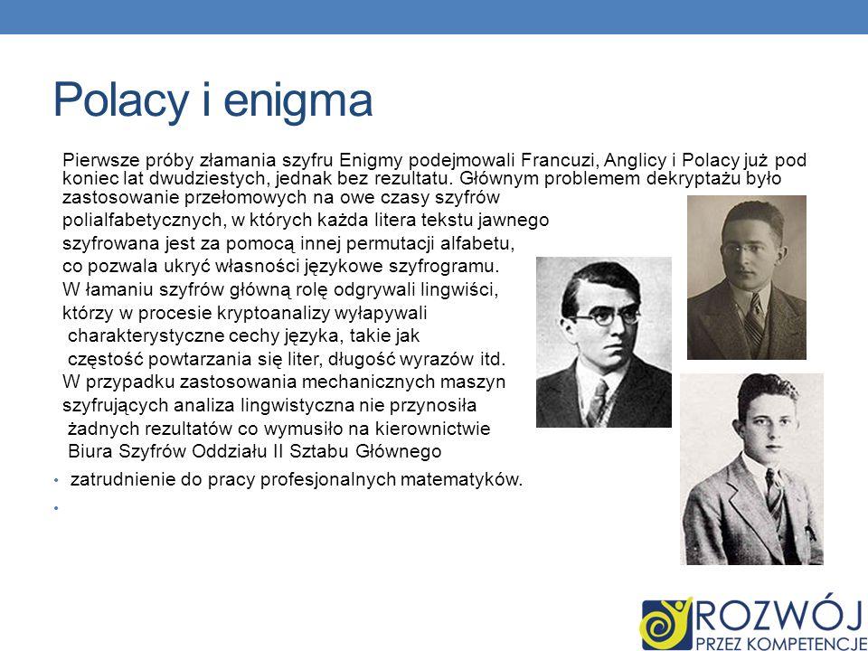 Polacy i enigma