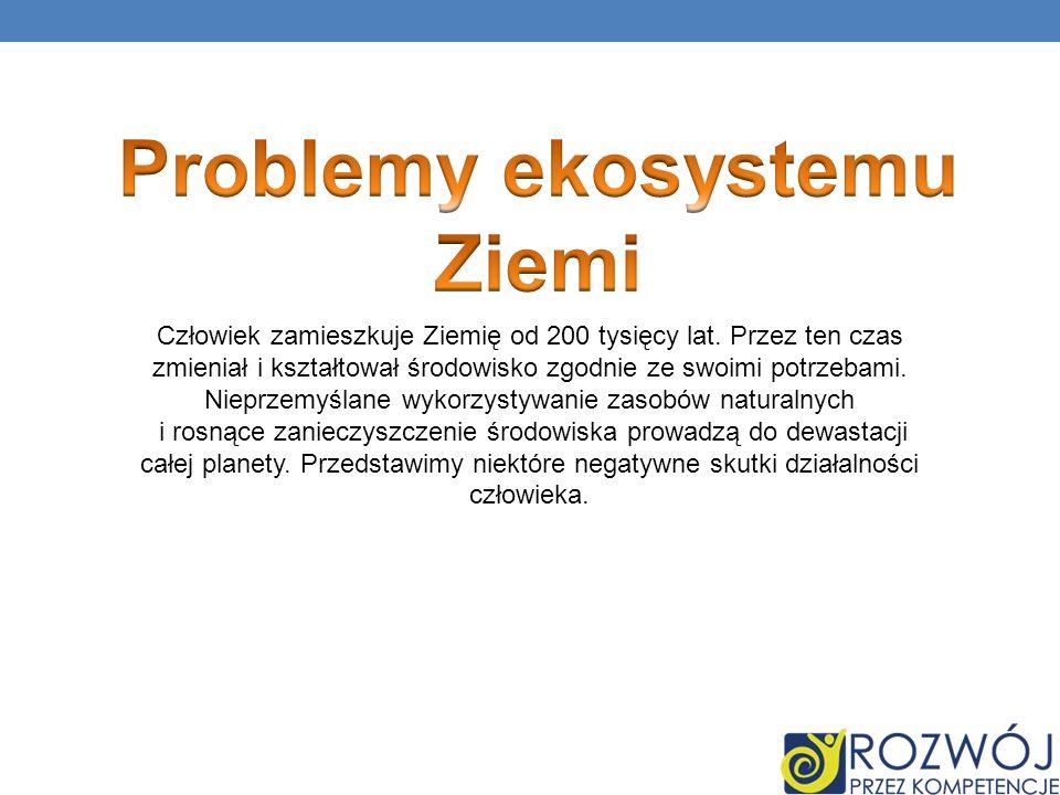 Problemy ekosystemu Ziemi