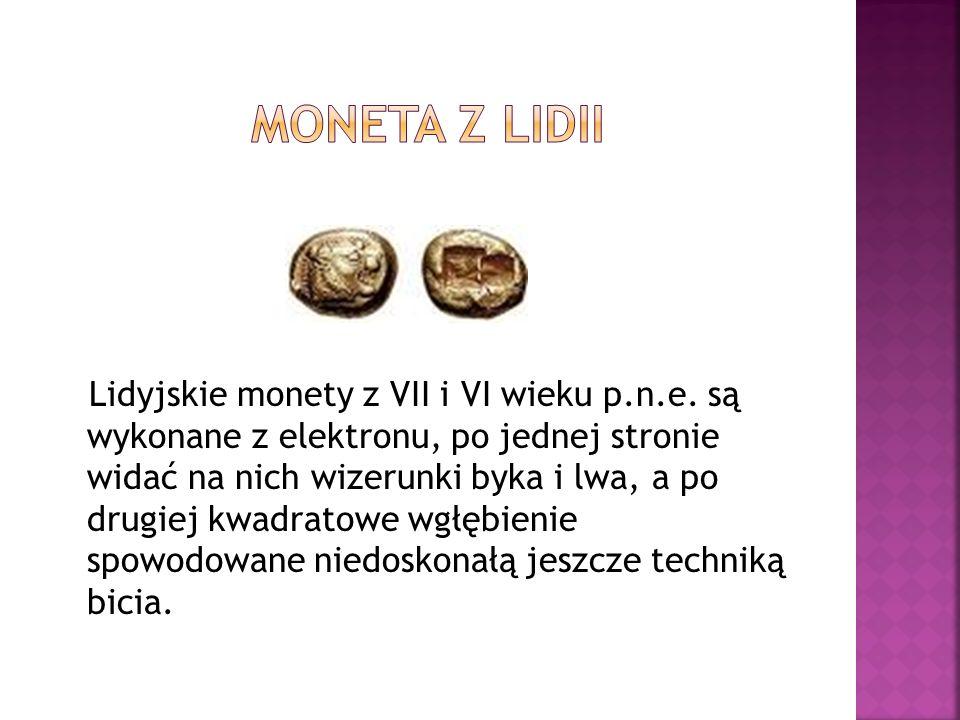 Moneta z lidii