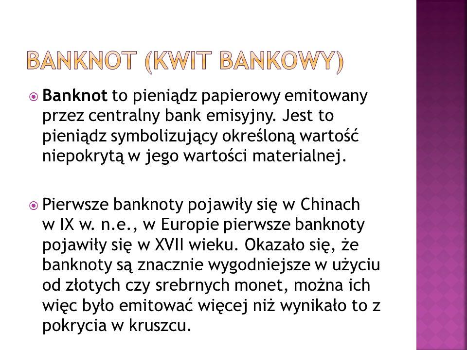Banknot (kwit bankowy)