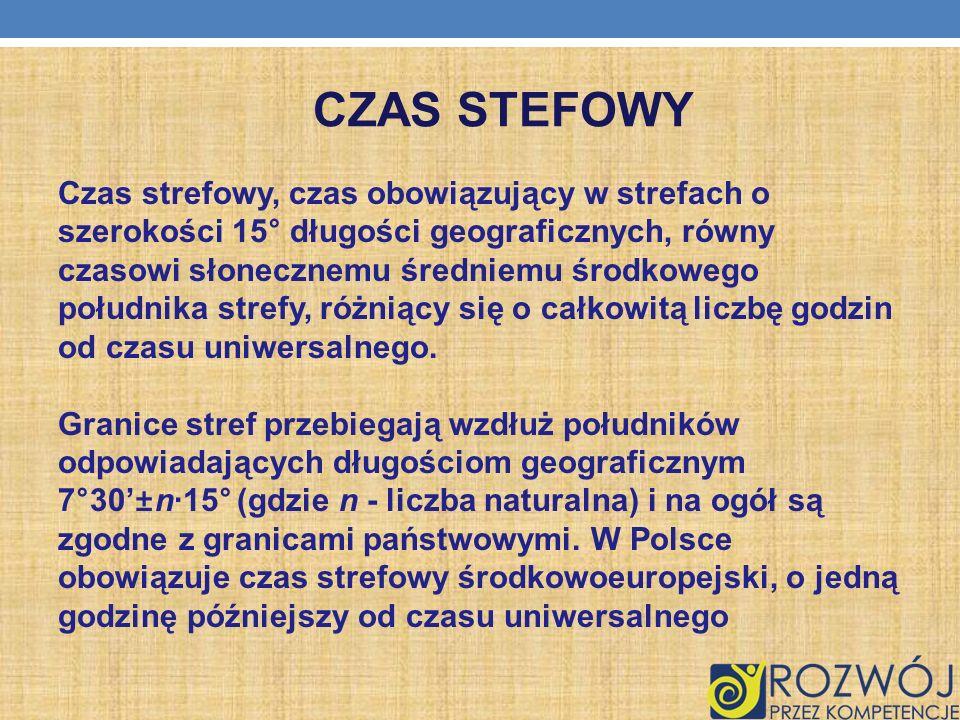 CZAS STEFOWY
