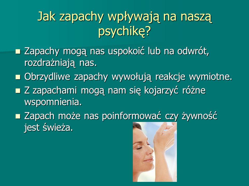 Jak zapachy wpływają na naszą psychikę