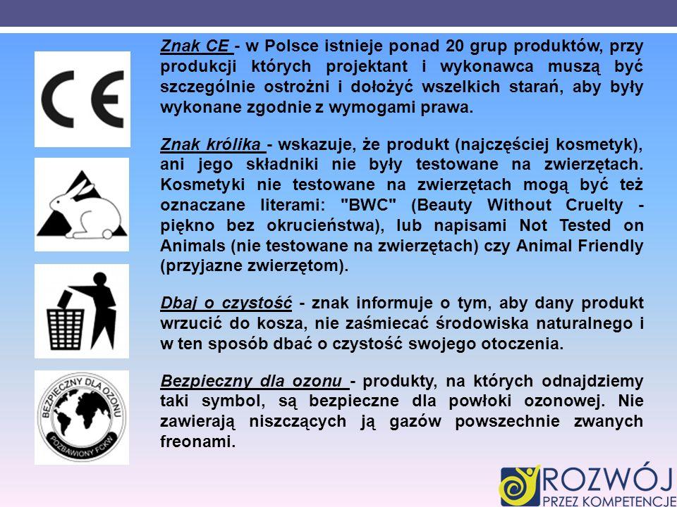 Znak CE - w Polsce istnieje ponad 20 grup produktów, przy produkcji których projektant i wykonawca muszą być szczególnie ostrożni i dołożyć wszelkich starań, aby były wykonane zgodnie z wymogami prawa.