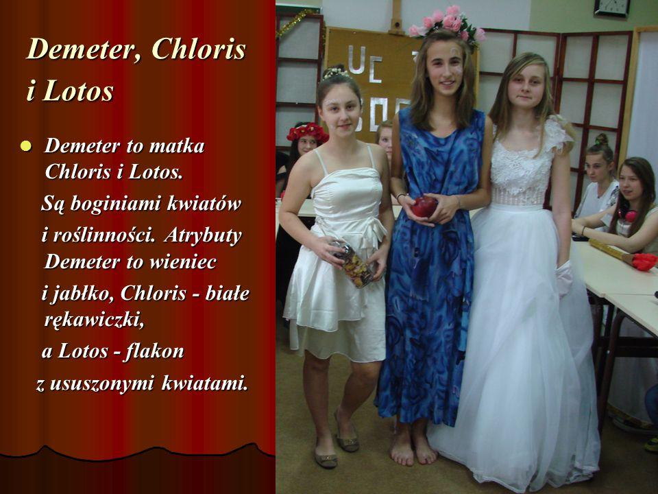 Demeter, Chloris i Lotos