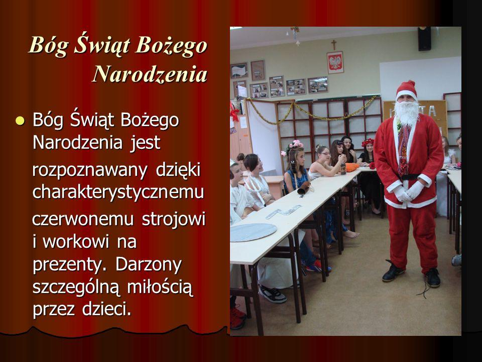 Bóg Świąt Bożego Narodzenia