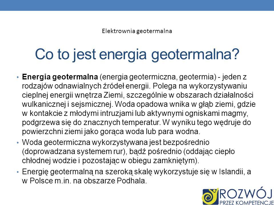 Co to jest energia geotermalna