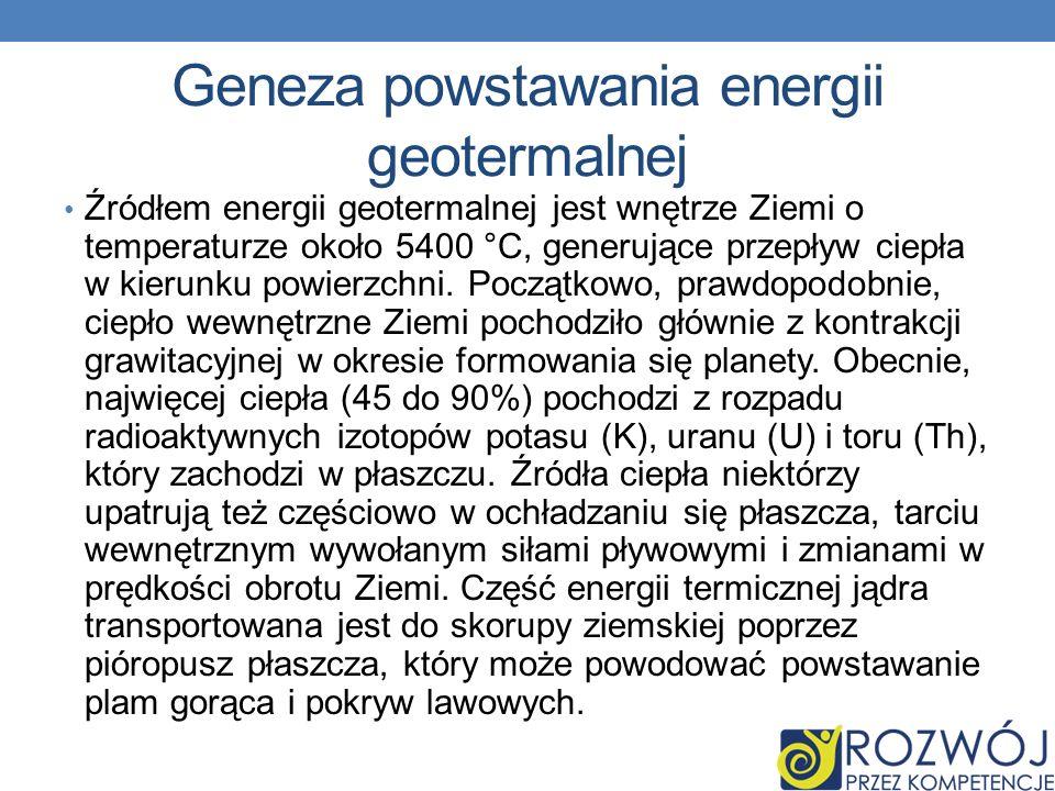 Geneza powstawania energii geotermalnej