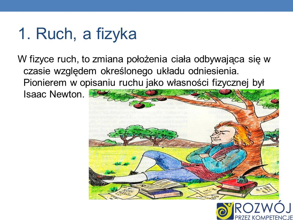 1. Ruch, a fizyka