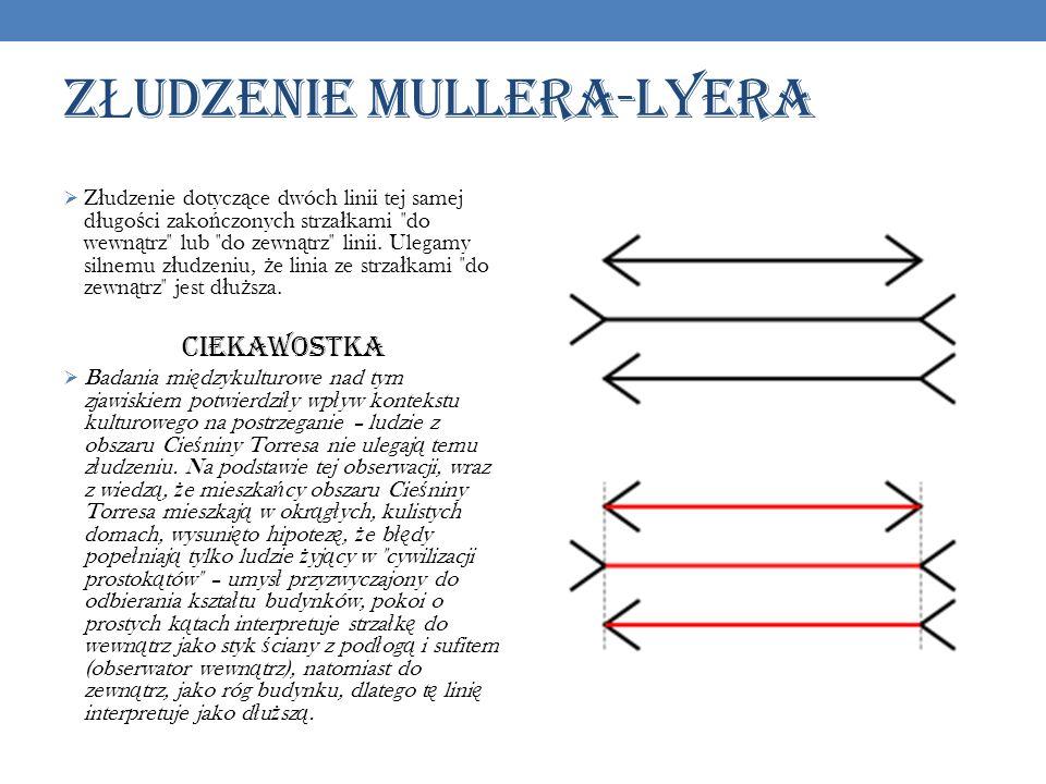 ZŁUDZENIE MULLERA-LYERA