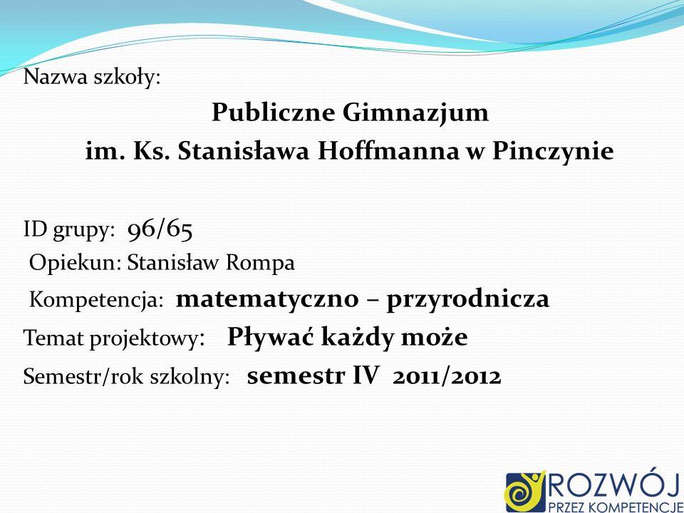 im. Ks. Stanisława Hoffmanna w Pinczynie