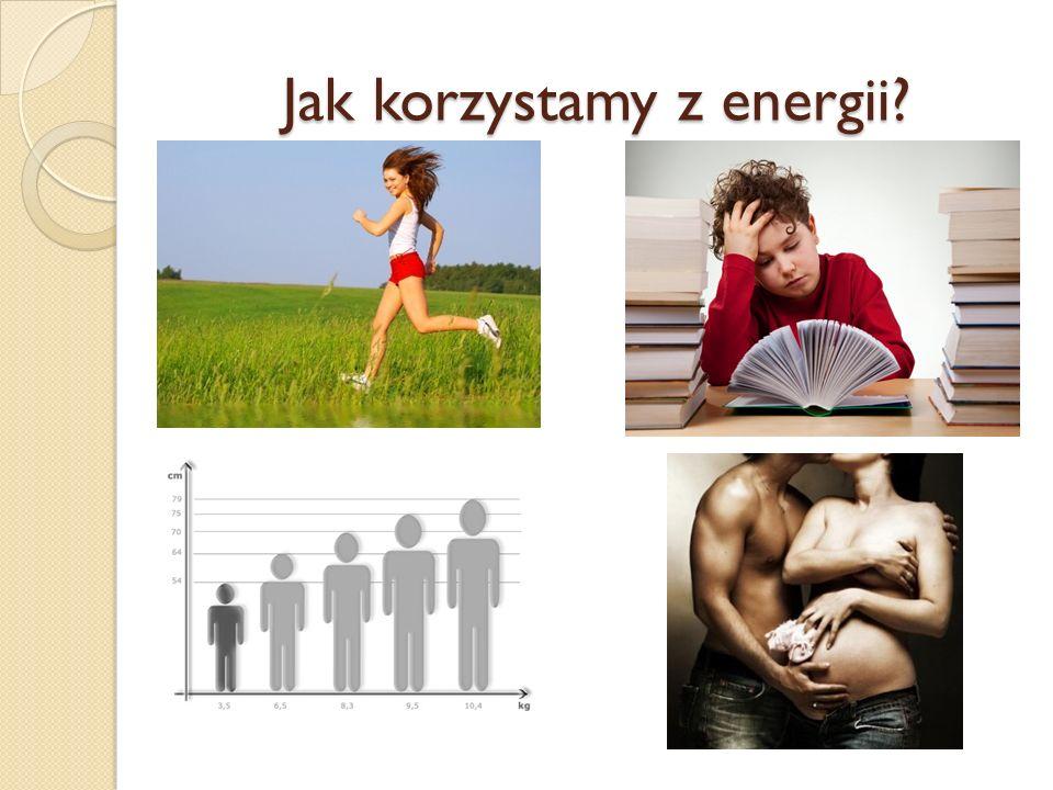 Jak korzystamy z energii