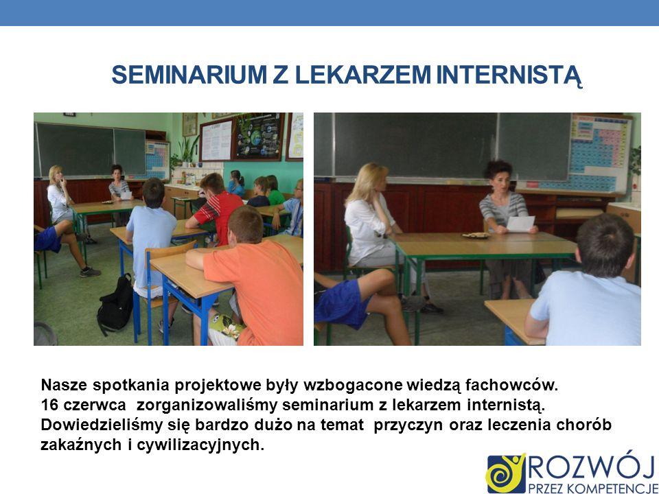 Seminarium z lekarzem internistą