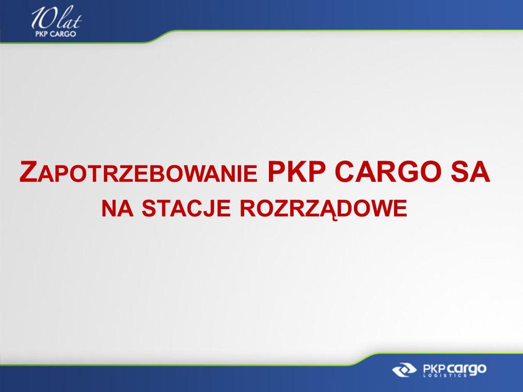 Zapotrzebowanie PKP CARGO SA