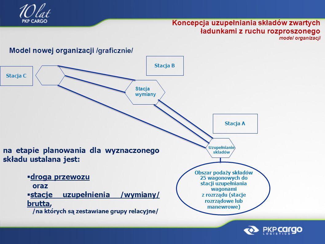 Model nowej organizacji /graficznie/