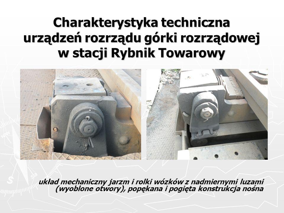 Charakterystyka techniczna urządzeń rozrządu górki rozrządowej w stacji Rybnik Towarowy
