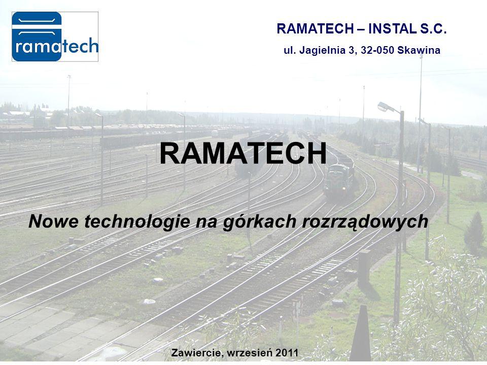 RAMATECH Nowe technologie na górkach rozrządowych