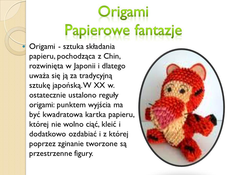 Origami Papierowe fantazje