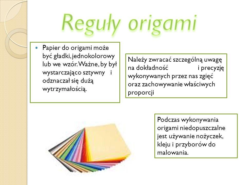 Reguły origami