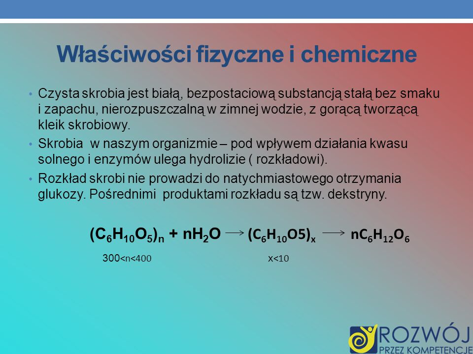 Właściwości fizyczne i chemiczne