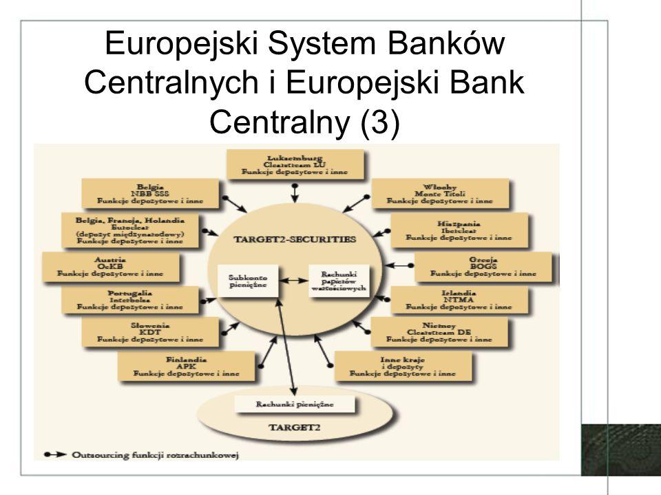 Europejski System Banków Centralnych i Europejski Bank Centralny (3)
