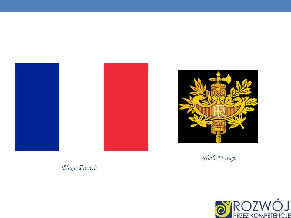 Herb Francji Flaga Francji
