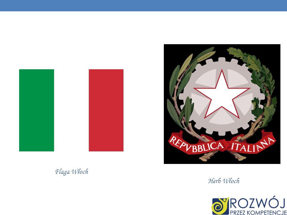 Flaga Włoch Herb Włoch