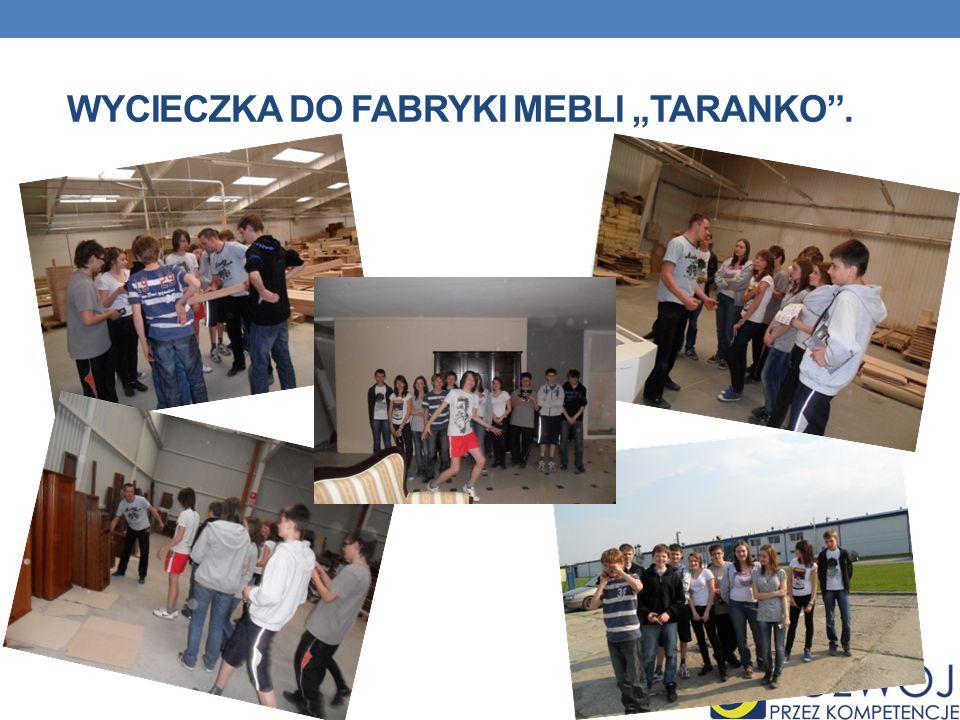 """Wycieczka do Fabryki Mebli """"Taranko ."""