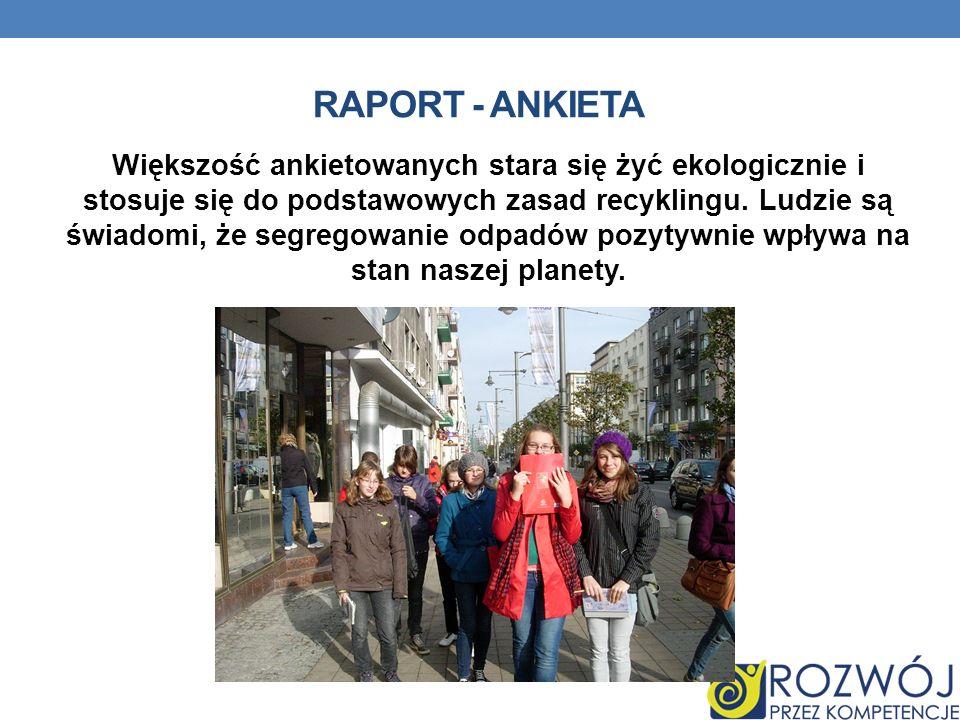 Raport - ankieta