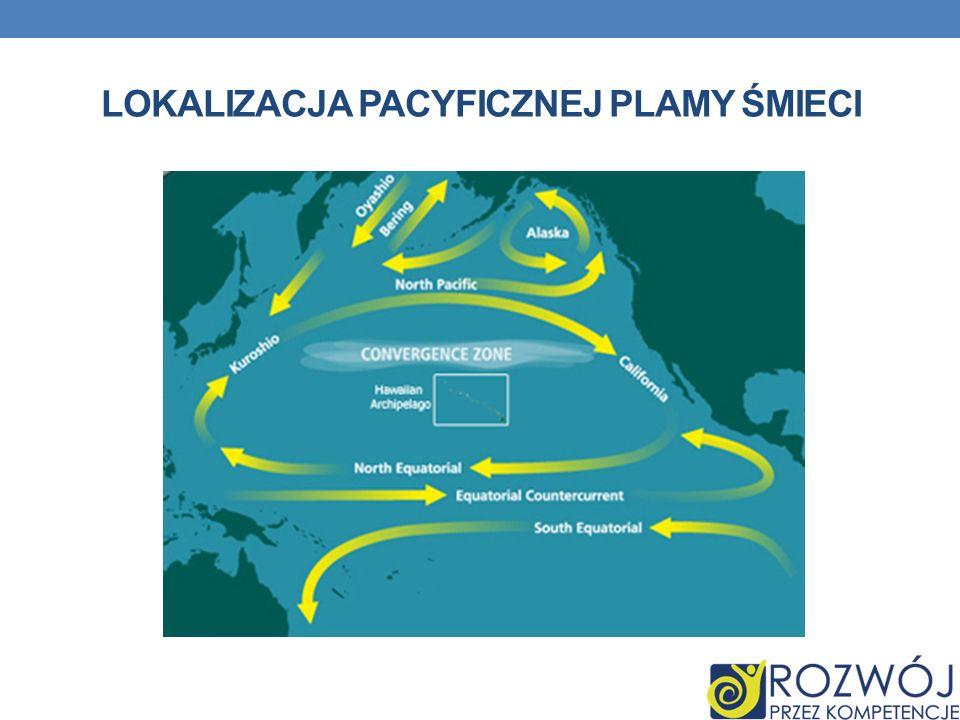 Lokalizacja Pacyficznej Plamy Śmieci