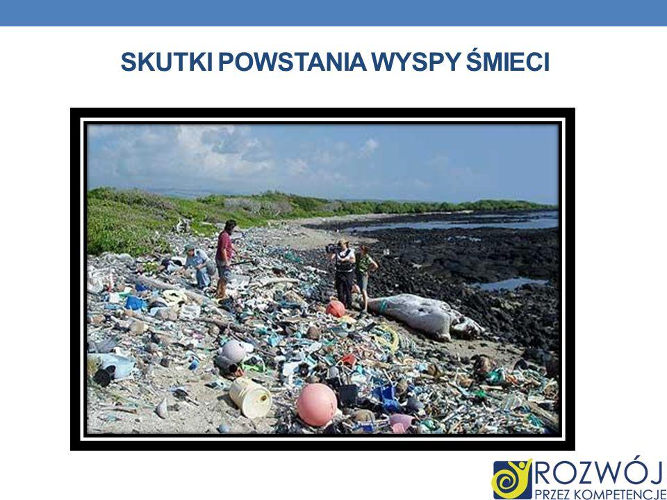 Skutki powstania wyspy śmieci