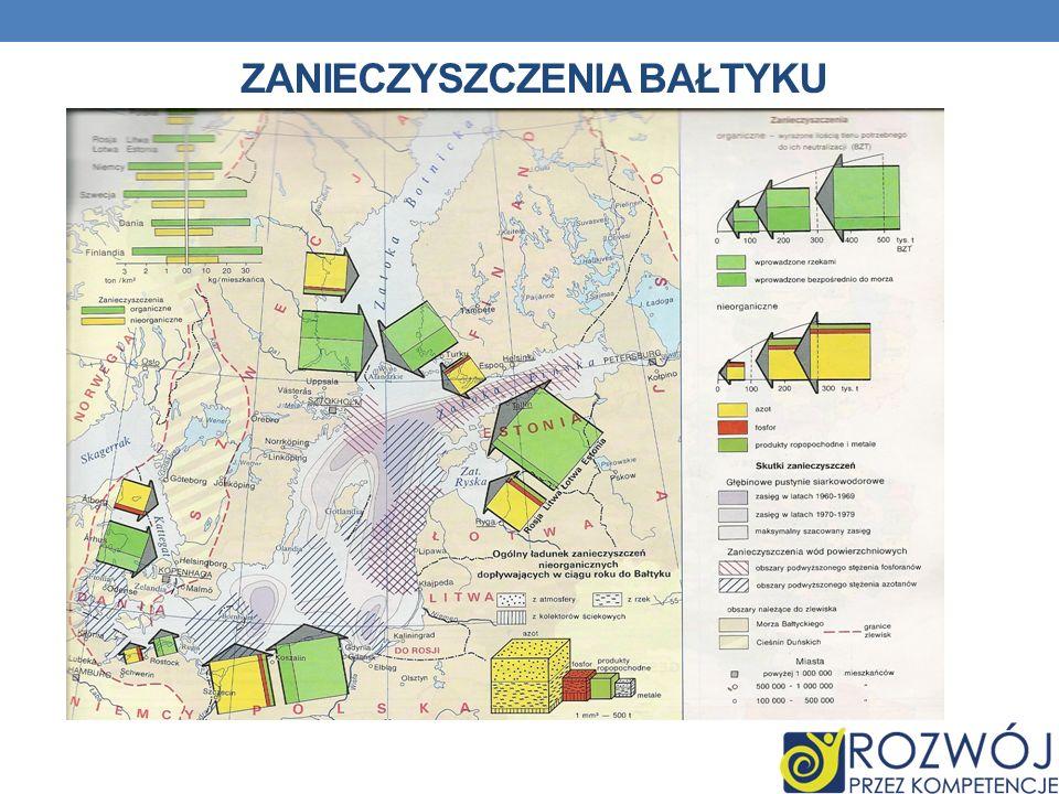 Zanieczyszczenia Bałtyku