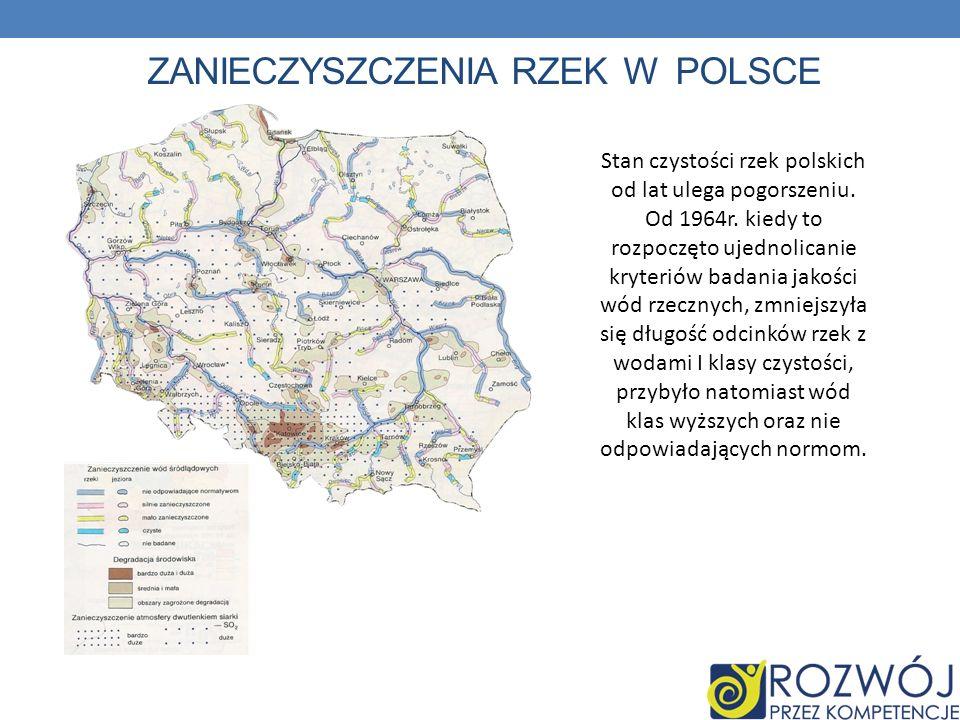 Zanieczyszczenia rzek w Polsce