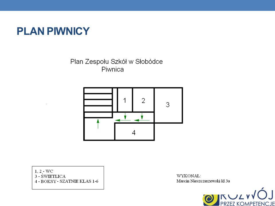 Plan Piwnicy