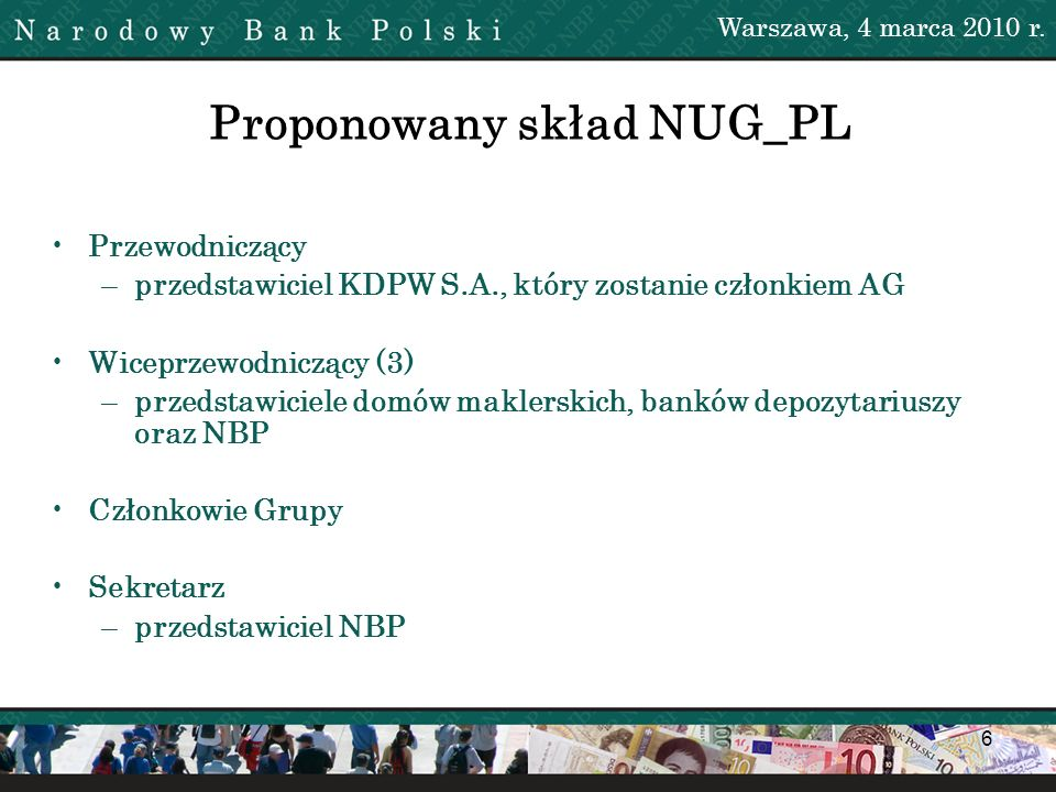 Proponowany skład NUG_PL