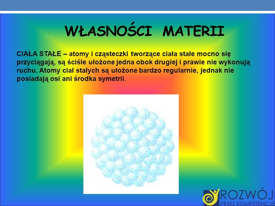Własności materii