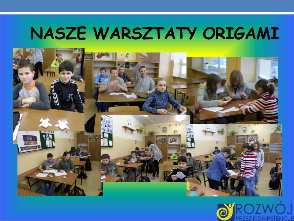 Nasze warsztaty origami