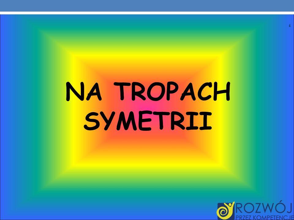 NA TROPACH SYMETRII ,
