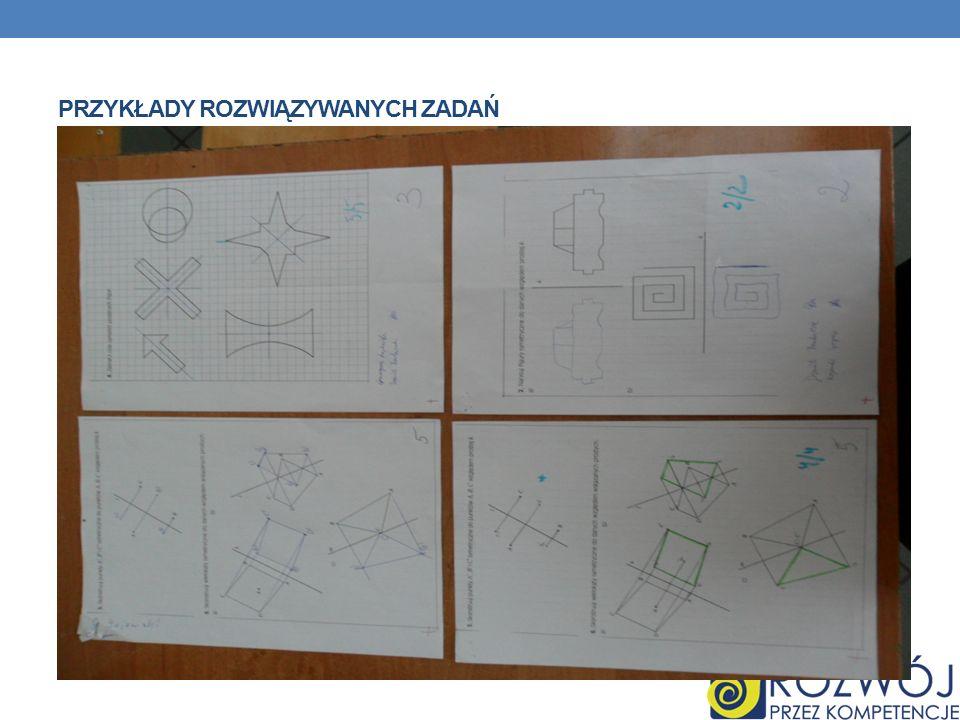 Przykłady rozwiązywanych zadań