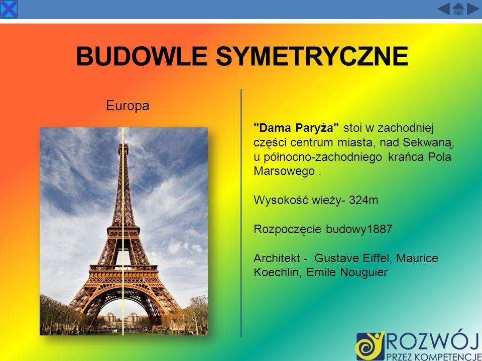 BUDOWLE SYMETRYCZNE Europa