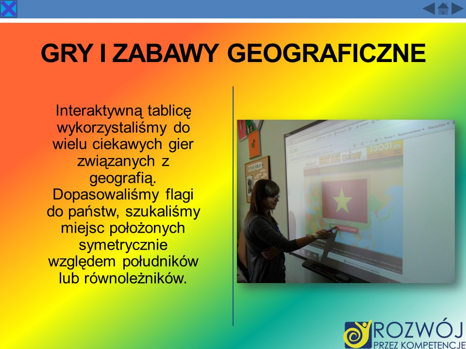 GRY I ZABAWY GEOGRAFICZNE