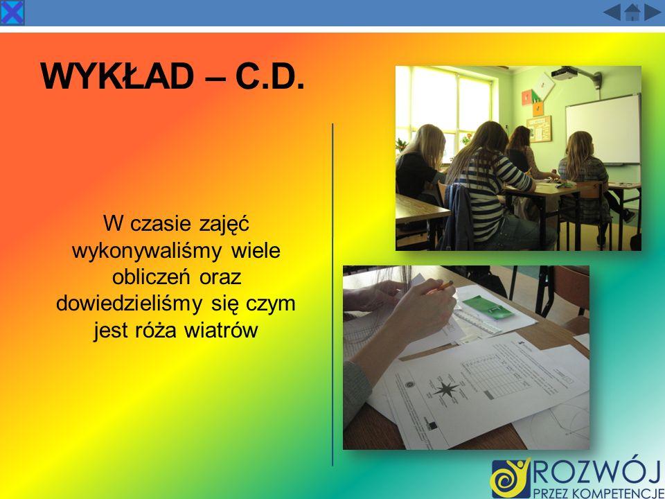 Wykład – c.d.