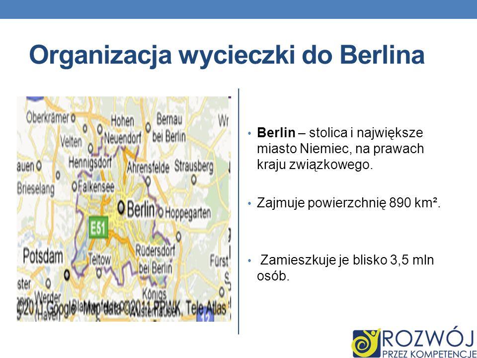 Organizacja wycieczki do Berlina