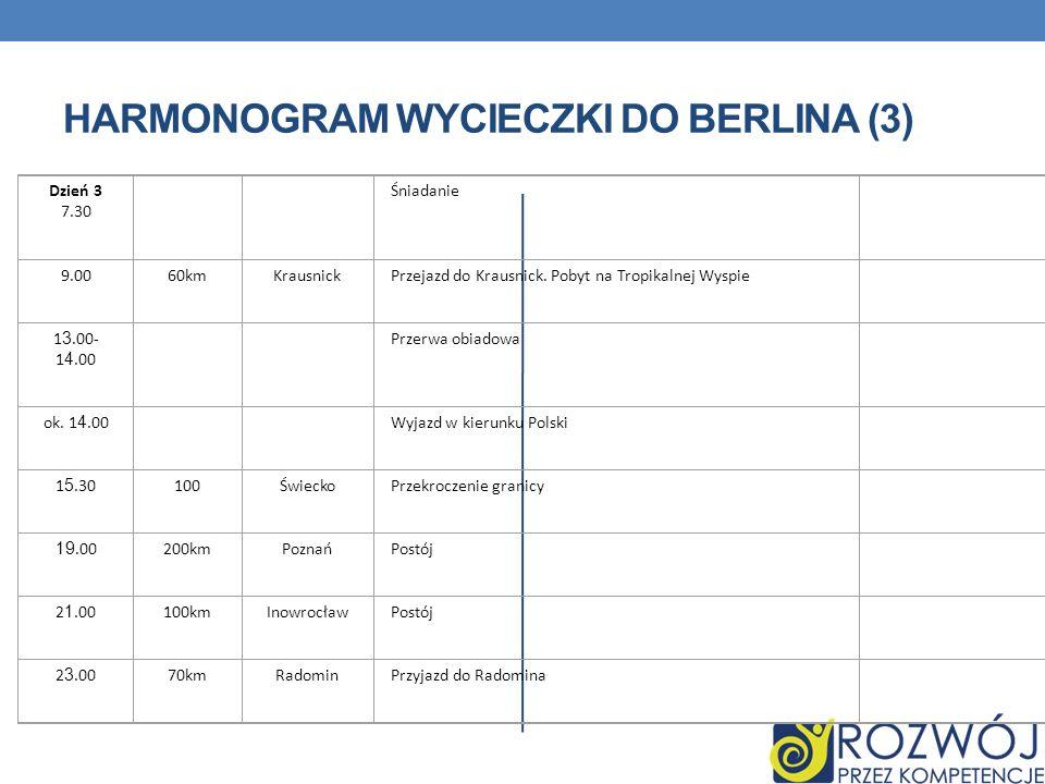 HARMONOGRAM WYCIECZKI DO BERLINA (3)